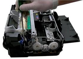 Hp manutenção impressora