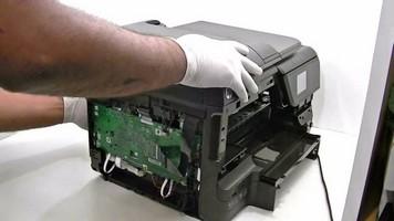 Manutenção da impressora hp
