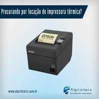 Impressora térmica locação