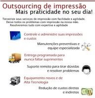 Outsourcing impressão