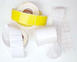 Etiquetas adesivas sem impressão