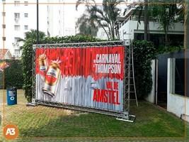 Impressão digital banner