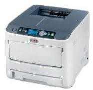 Impressora multifuncional preto e branco