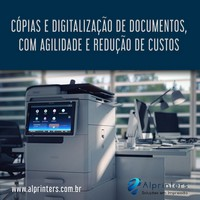 Impressoras e copiadoras aluguel