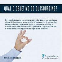 Outsourcing de impressoras